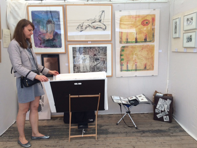 Exposition des estampes et gravures d'Aga Werner - Journée des estampes contemporaines