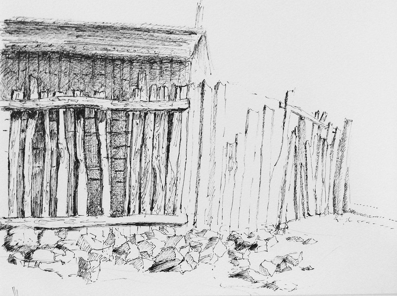 cours dessin perspective paysage feutre atelier3113 paris