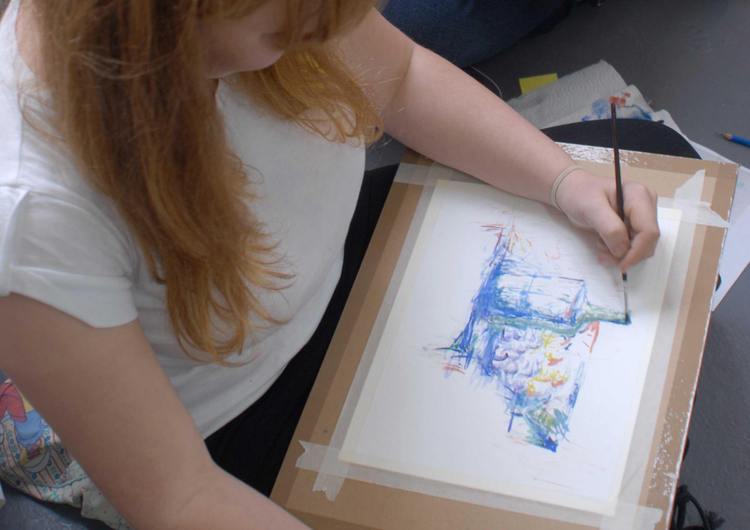 Cours de dessin adolescents et enfants