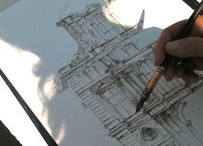 Cours de dessin architecture
