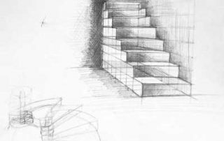 cours de dessin initiation dessin en perspective. Black Bedroom Furniture Sets. Home Design Ideas