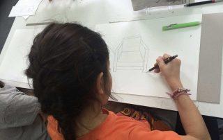 Cours de dessin en perspective Ados