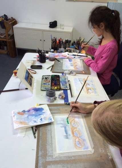Cours de dessin pour des adolescents