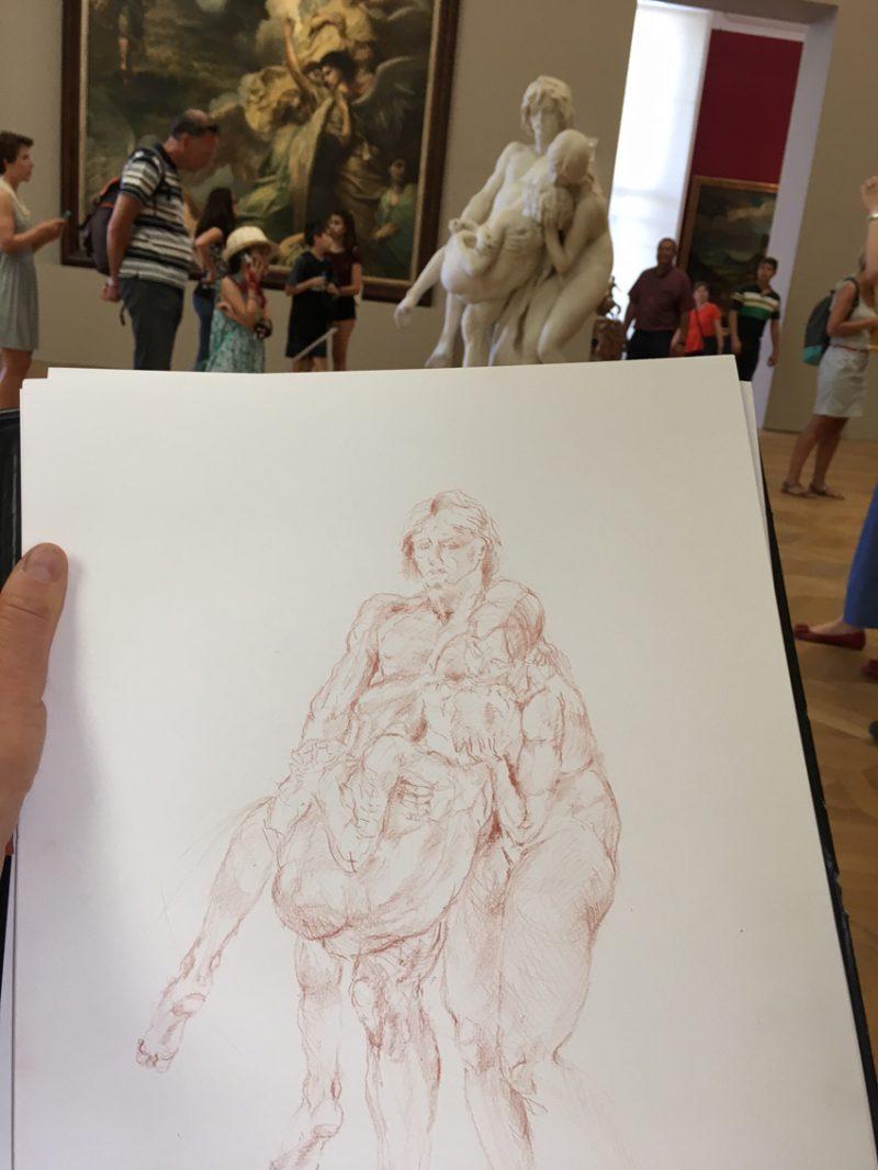 Atelier de dessin au Petit Palais-Paris