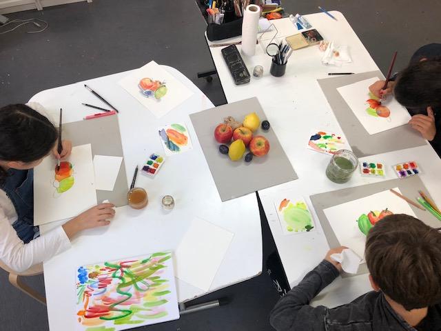 atelier des enfants et adolescents Cours à l'atelier