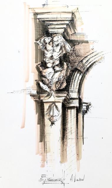 Architecture Renaissance - Croquis