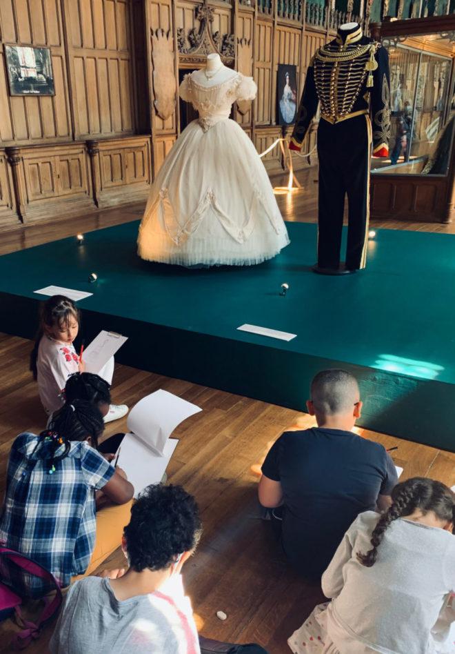 Musée de Pierrefonds-L'exposition Eugénisme impératrice de la mode